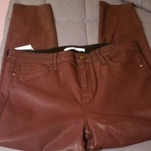 👖Beautiful Sz 32 Sam Edelman Burgundy Jeans